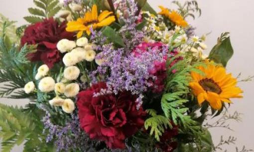Ram de flors fresques variat. Flor de temporada segons l'època del any