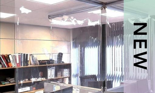 Cortinas Enrollables Transparentes by Bandalux